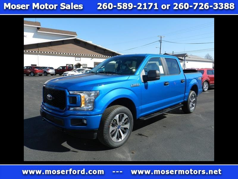 "2019 Ford F-150 4WD SuperCrew 145"" XL"