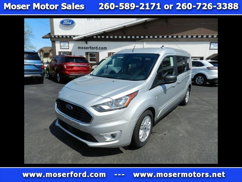2019 Ford Transit Connect Wagon XLT LWB Passenger with Rear Liftgate and Fix