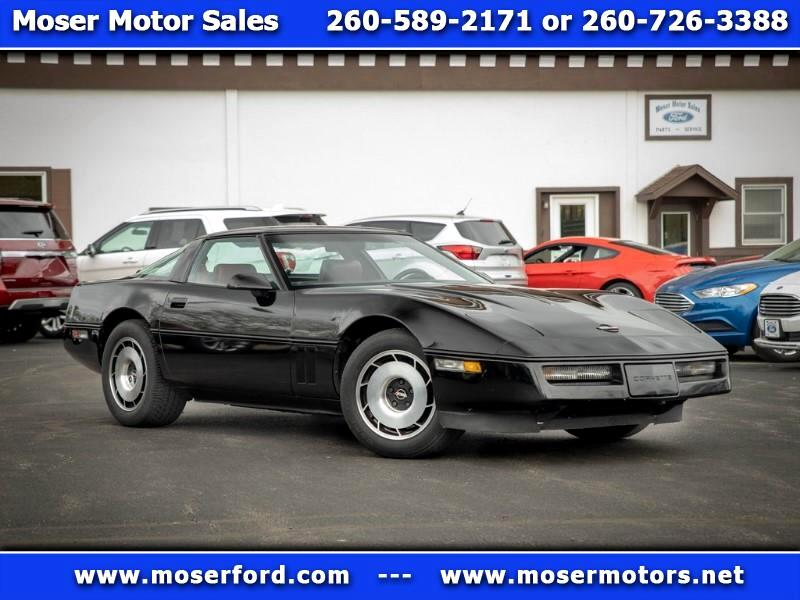 1984 Chevrolet Corvette 2dr Convertible