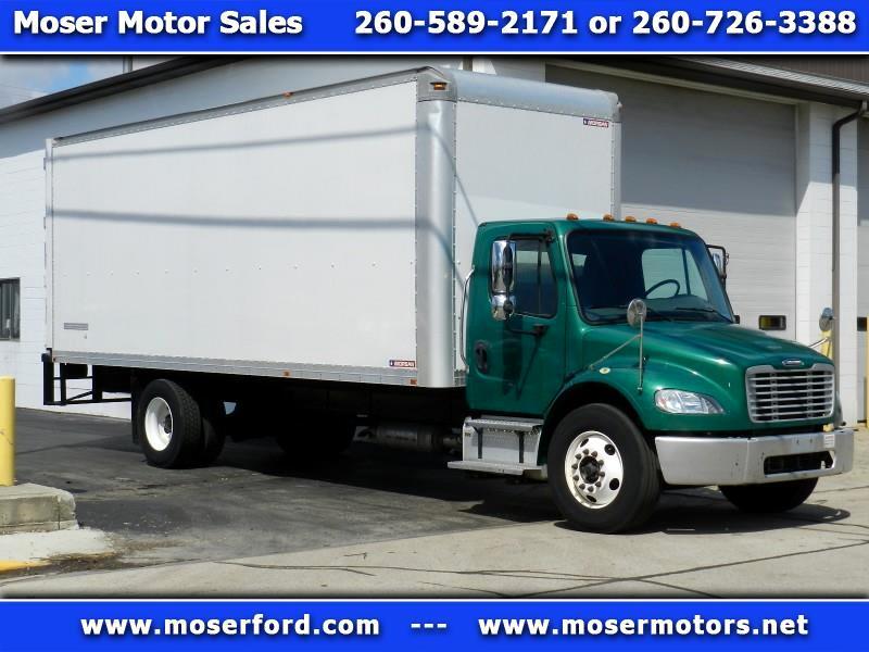2014 Freightliner M2 106 Medium Duty Dry Cargo Delivery Van Truck Box Truck