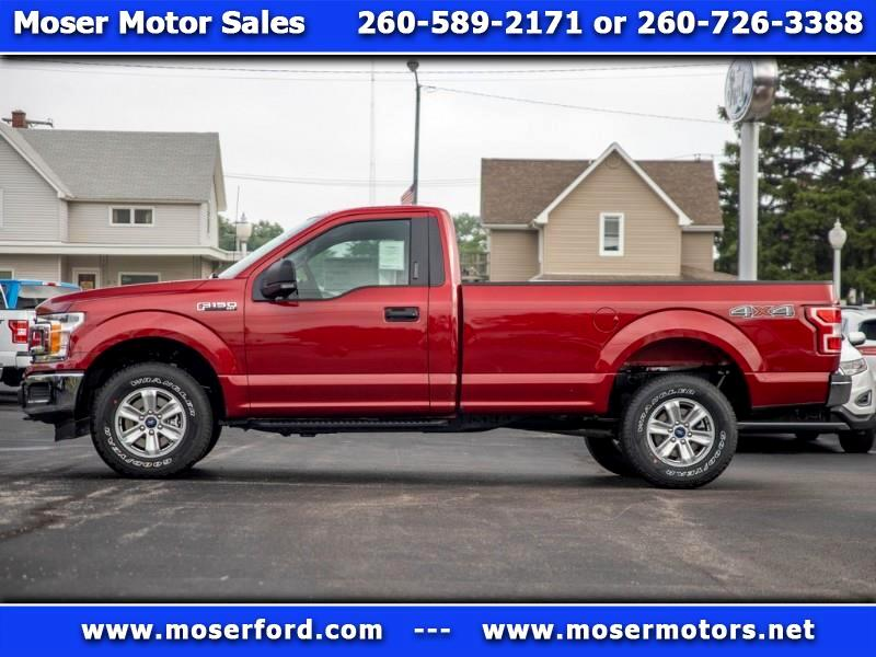 2019 Ford F-150 XLT 4WD Reg Cab 8' Box