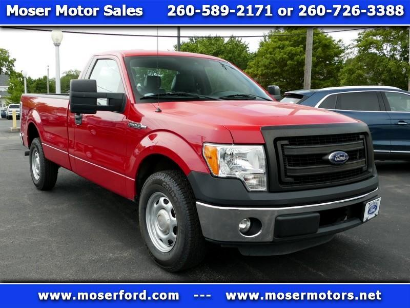2013 Ford F-150 XL 8-ft Bed 2WD