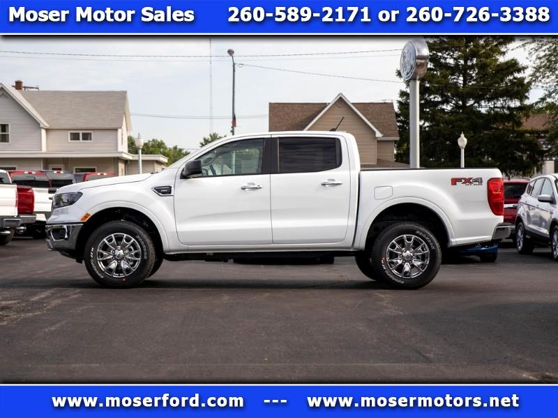 2019 Ford Ranger XLT SuperCrew 4WD 5' Box