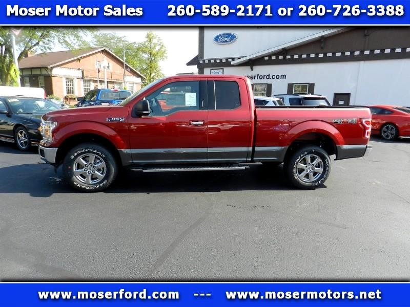 2019 Ford F-150 XLT SuperCab 6.5-ft. Bed 4WD