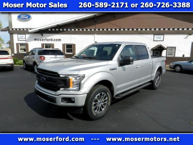 2019 Ford F-150 XLT SuperCab 5.5-ft. Bed 4WD