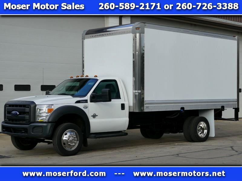 2013 Ford F-550 Super Duty Reg Cab XL Box Truck