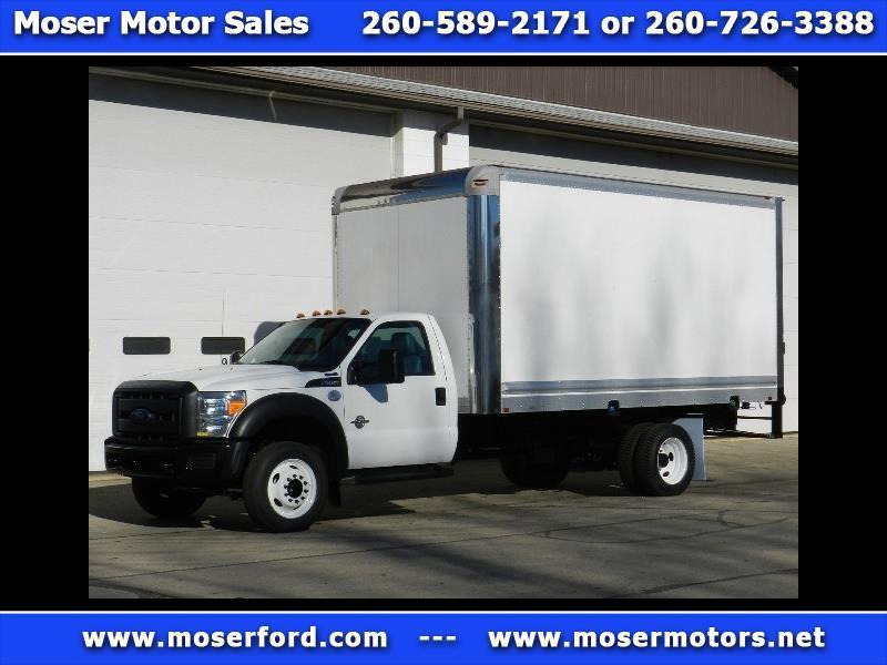 2013 Ford F-550 Box Truck