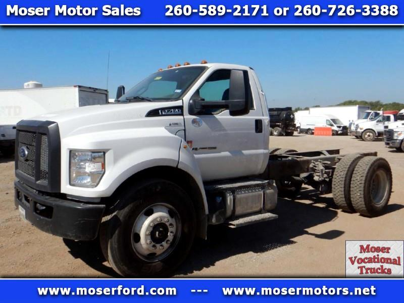 2018 Ford F-750