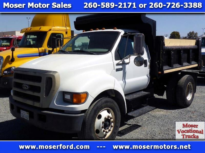 2005 Ford F-650 Dump Truck Regular Cab 4x2 DRW