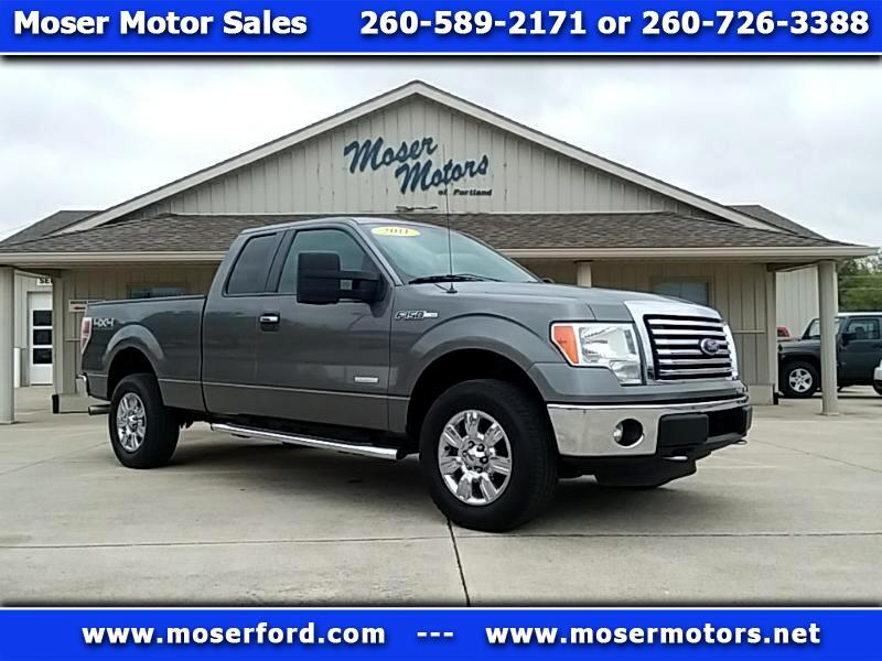 2011 Ford F-150 SuperCab 6.5 ft Bed 4WD with Off Road Package