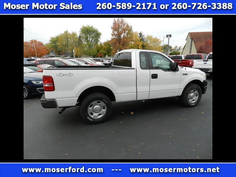 2006 Ford F-150 XL Reg. Cab 4-door 4WD 61/2 Foot Bed