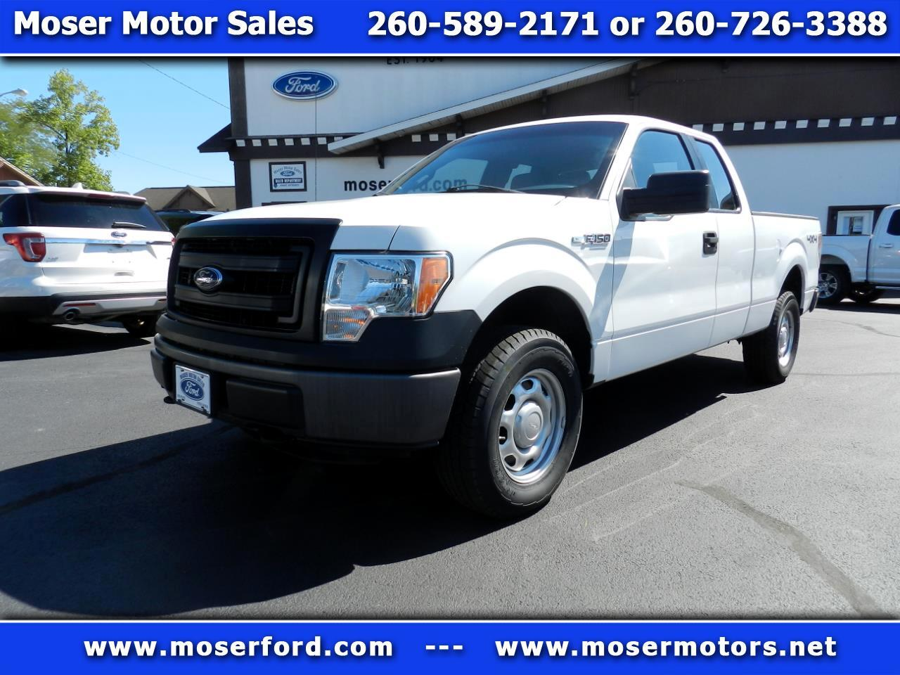 "Ford F-150 4WD SuperCab 145"" XL 2013"