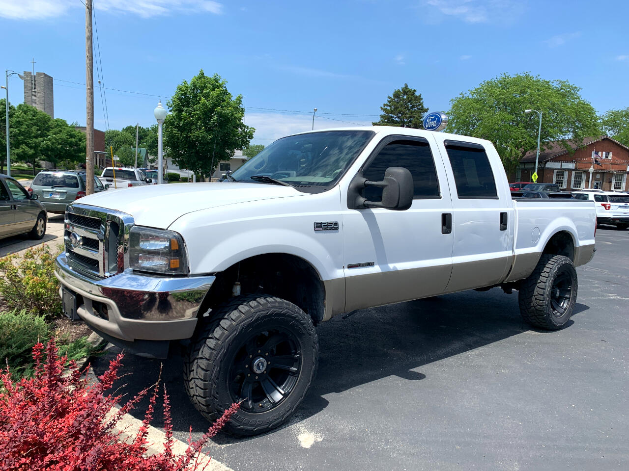 Ford F-250 SD Lariat Crew Cab Short Bed 4WD 2000