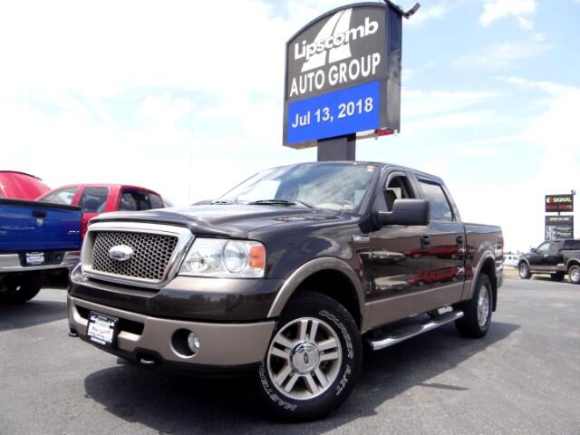 "2006 Ford F-150 4WD SuperCrew 139"" Lariat"