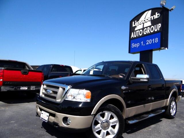 "2007 Ford F-150 SuperCrew Crew Cab 139"" King Ranch 4WD"