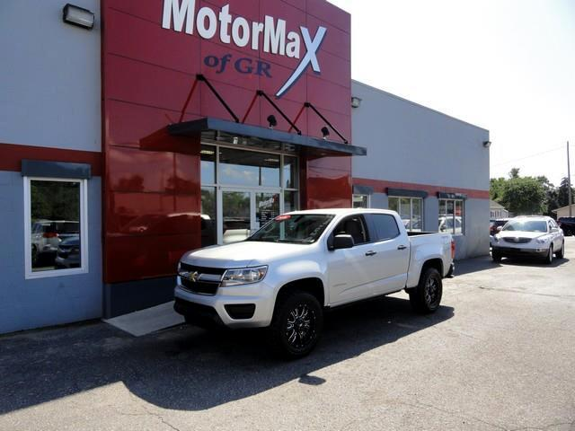 2016 Chevrolet Colorado Work Truck Crew Cab 4WD Long Box