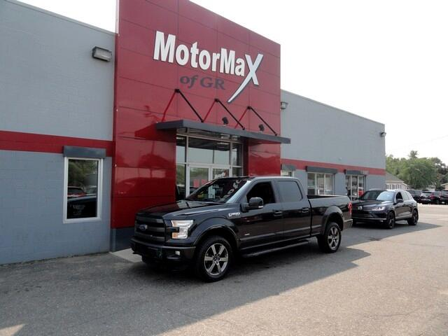 Ford F-150 Lariat SuperCrew 6.5-ft Box 4WD 2015