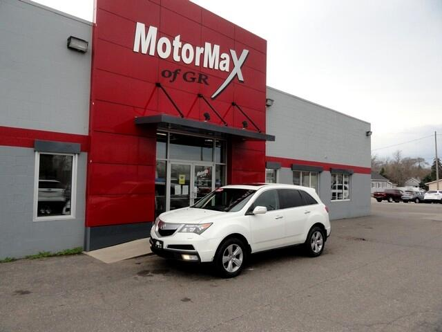 Acura MDX AWD 4dr Advance Pkg 2012
