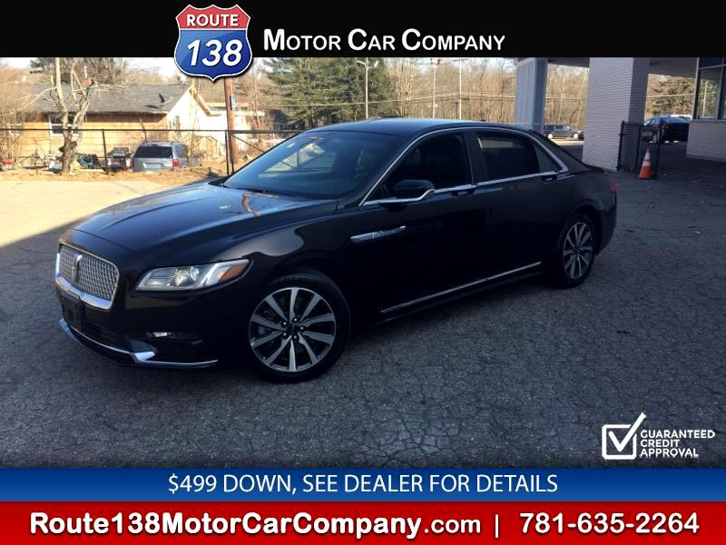 Lincoln Continental Livery AWD 2018
