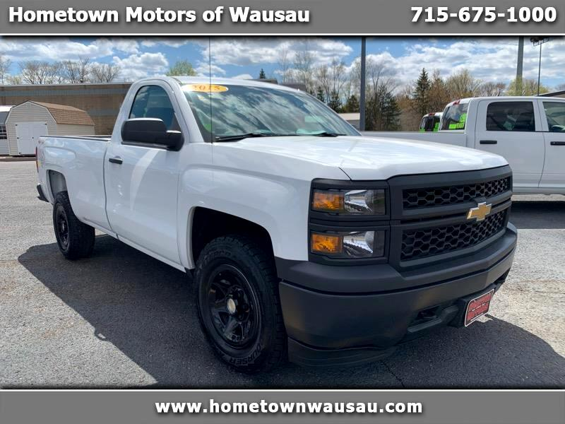 2015 Chevrolet Silverado 1500 Work Truck Short Box 4WD