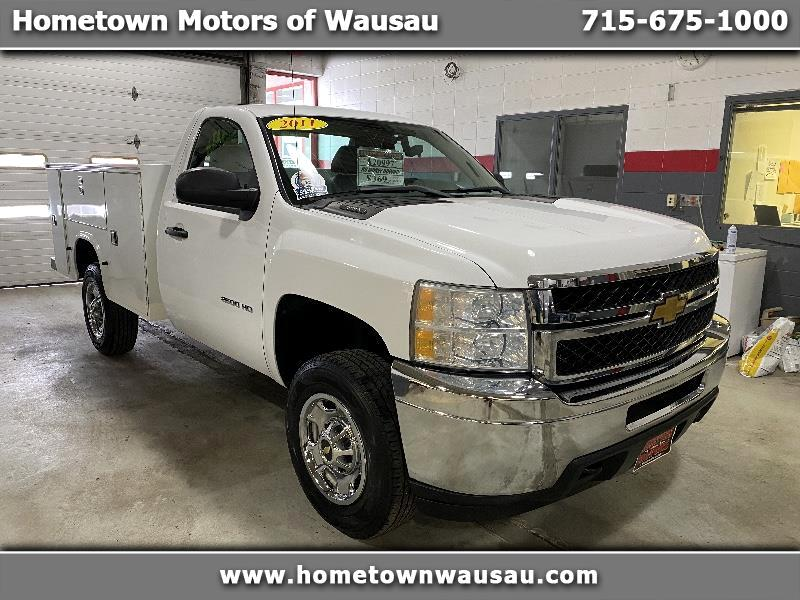 Chevrolet Silverado 2500HD Work Truck Long Box 4WD 2011
