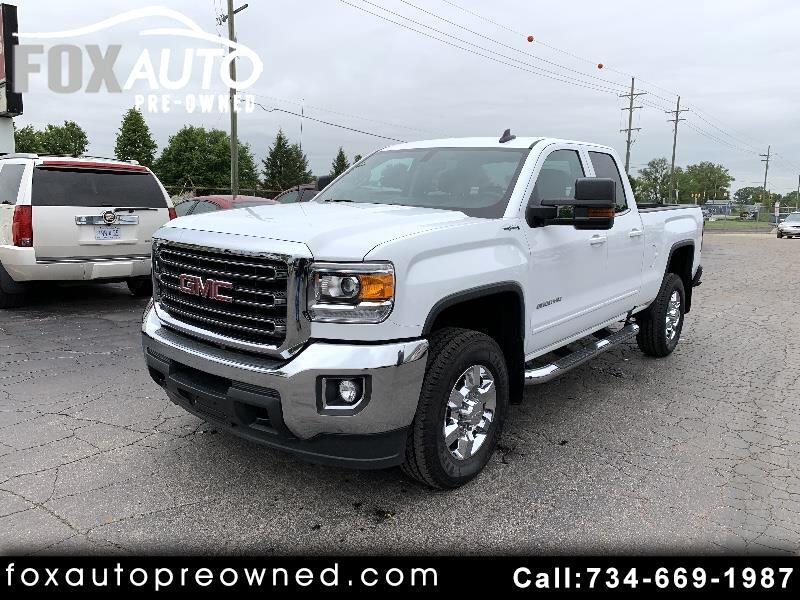 "GMC Sierra 2500HD 4WD Double Cab 144.2"" SLE 2017"