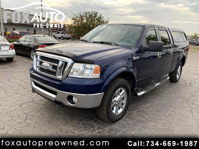 "2007 Ford F-150 4WD SuperCrew 150"" FX4"