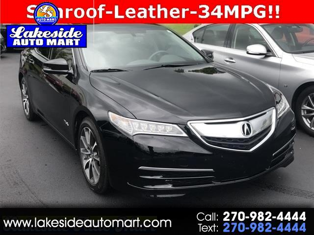 2016 Acura TLX 9-Spd AT