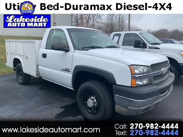 2004 Chevrolet Silverado 2500HD Work Truck Long Bed 4WD