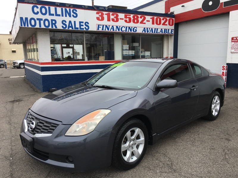 2008 Nissan Altima 2dr Cpe I4 Man 2.5 S