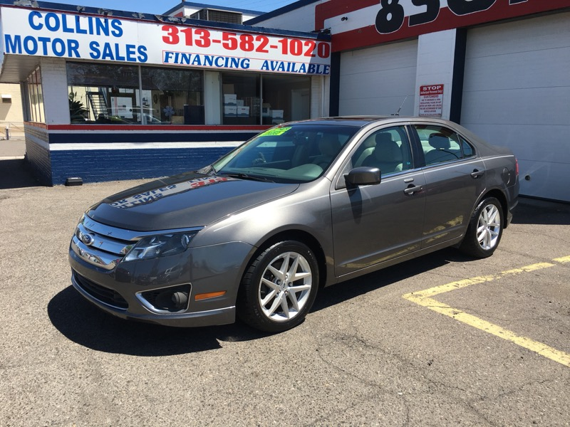 2011 Ford Fusion 4dr Sdn I4 SEL
