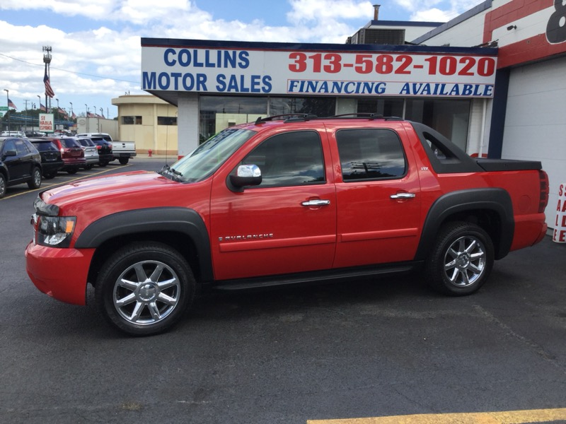 "Chevrolet Avalanche 4WD Crew Cab 130"" LT w/3LT 2008"