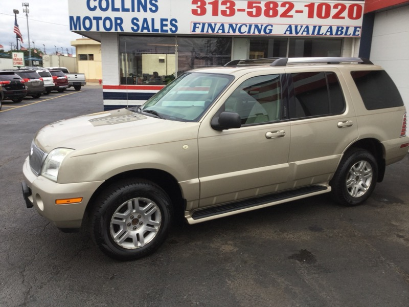 "Mercury Mountaineer 4dr 114"" WB Convenience w/4.6L AWD 2005"