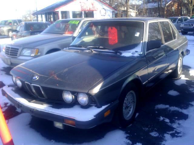 BMW 5-Series 528E 1988