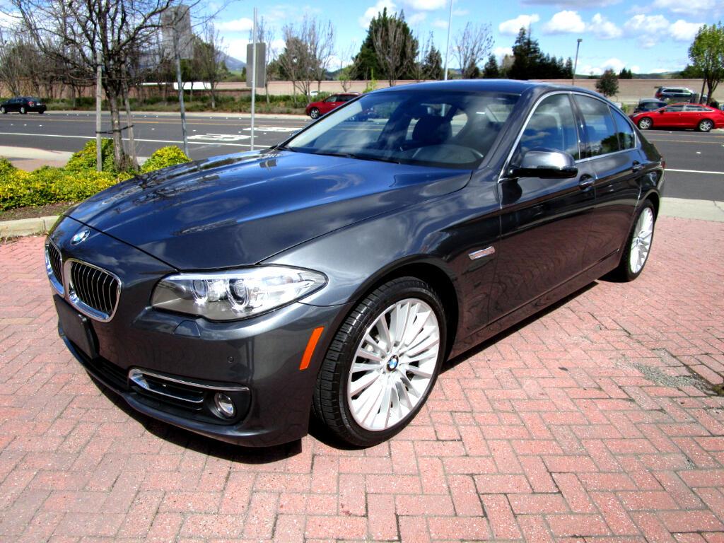 2016 BMW 550i PREMIUM-EXEC PKG*SPORT HEATED SEATS*HDS-UP*CLD WTH