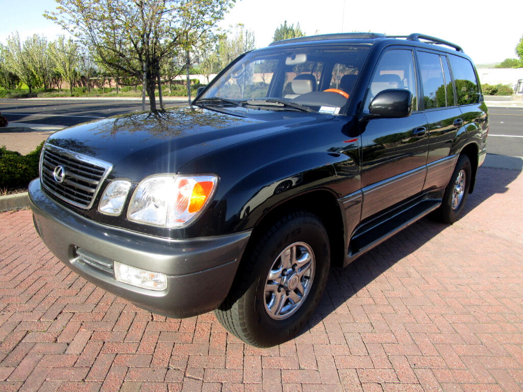 2002 Lexus LX 470 4WD*DVD'S**NAV*HEAT SEATS*3RD ROW**LIKE NEW**
