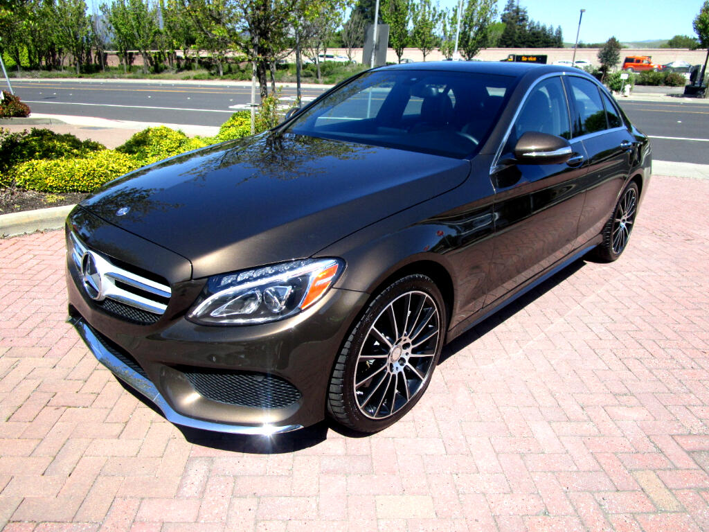 2015 Mercedes-Benz C-Class C400 4MATIC**PANO ROOF*KEYLESS*HEAT SEATS*CAMERA*