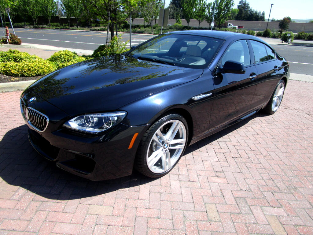 2015 BMW 640i Gran Coupe M SPORT PKG W/PADDLE SHIFT*HEAT/AC SEATS*HEADS-UP*