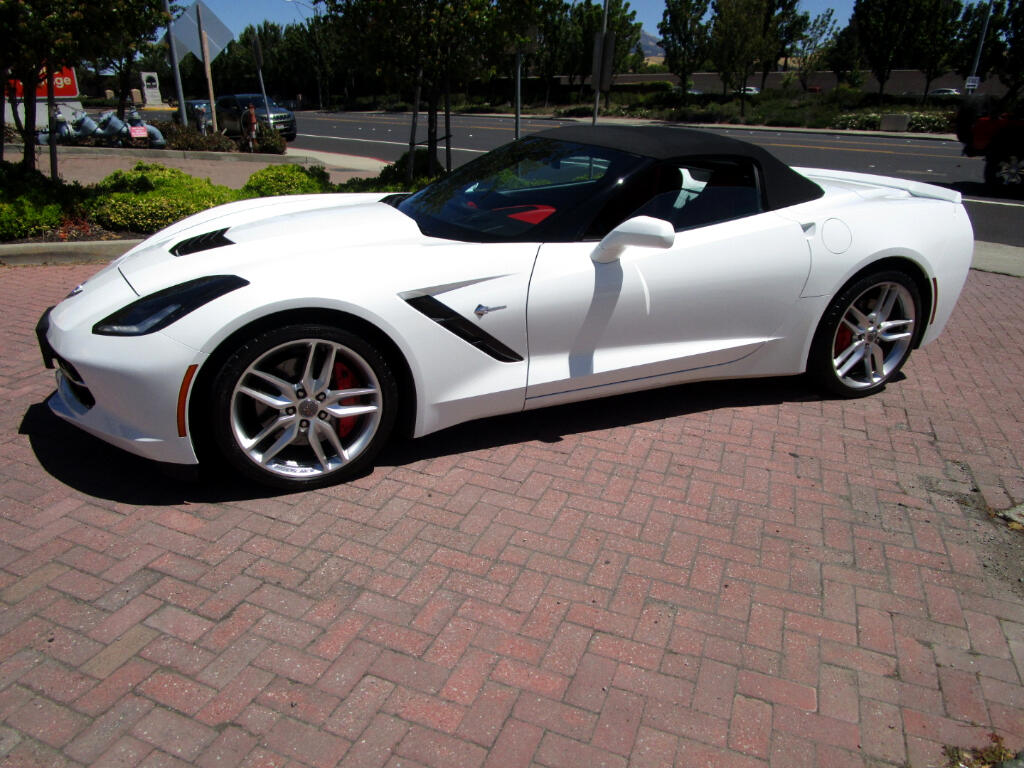 2014 Chevrolet Corvette Stingray Z51/3LT OPTION PKG*PWR TOP*BOSE*HEAT-AC SEATS*