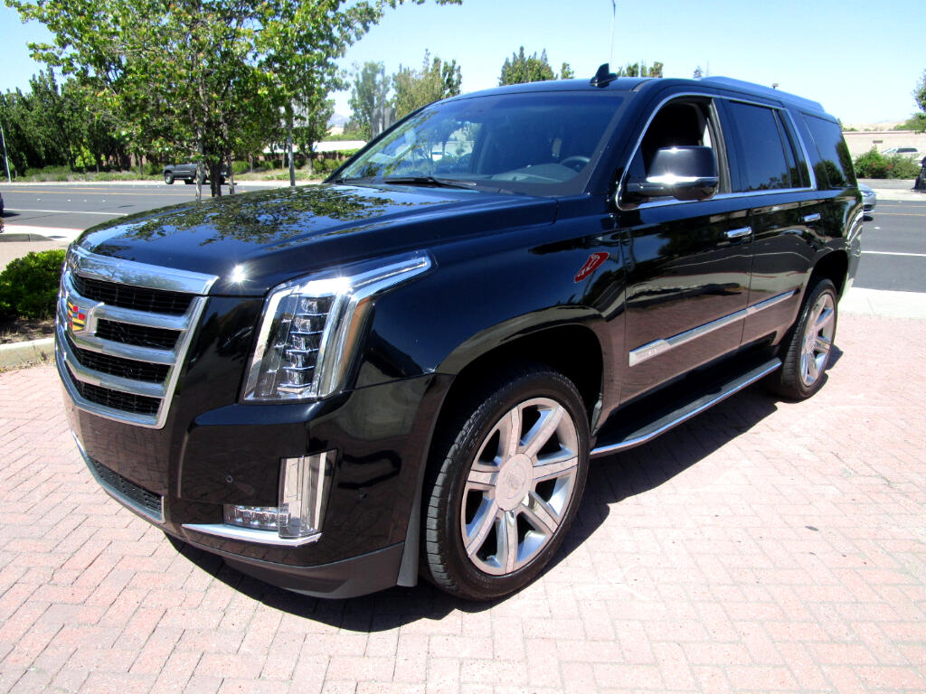 2018 Cadillac Escalade 4WD LUX PKG*HEAT/AC SEATS*HEAT CAPT CHAIRS*3RD ROW