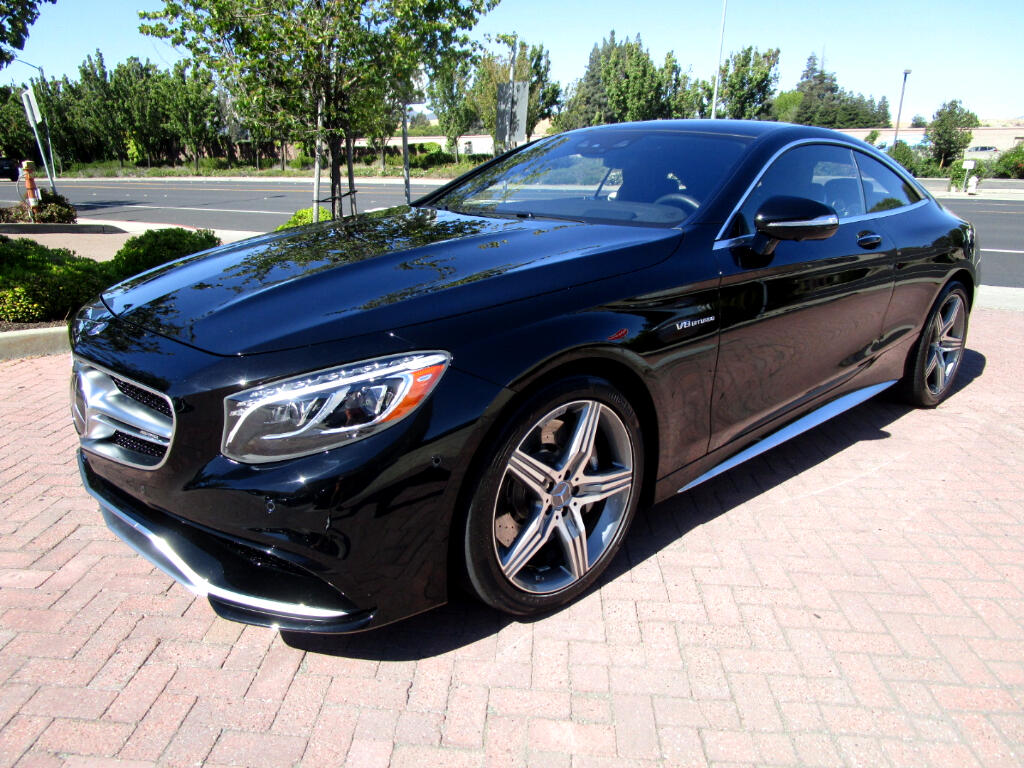 2016 Mercedes-Benz S63 AMG *NEW $181465.00**4MATIC*DRIVER ASSIST*NIGHT VIEW*