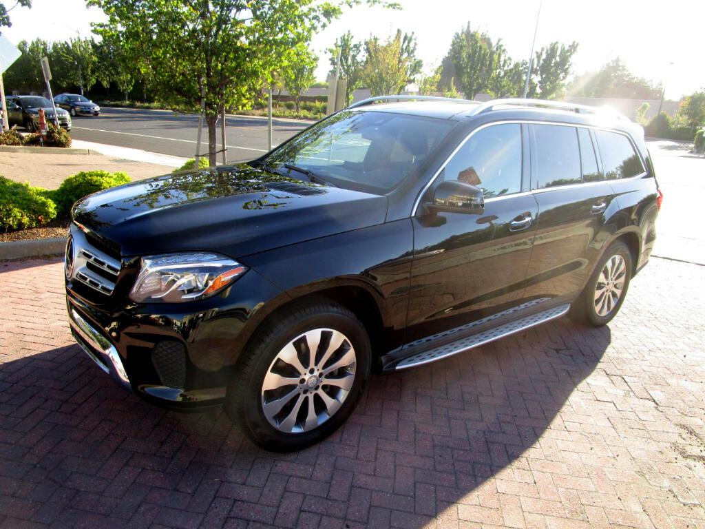 2017 Mercedes-Benz GLS 450 4MATIC*AWD*DRIVER ASSIST*HEAT LTHR SEATS*PANO*