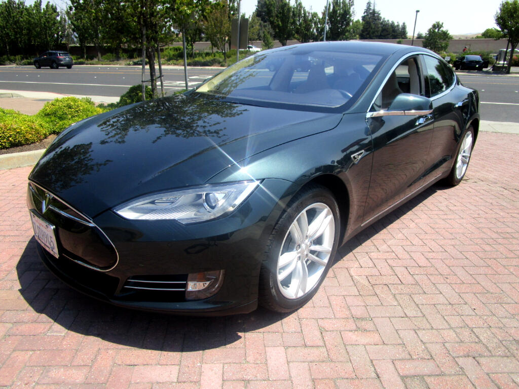 2014 Tesla Model S 85KWT*PWR LEATHER SEATS*TECH PKG*PARK SENSORS*