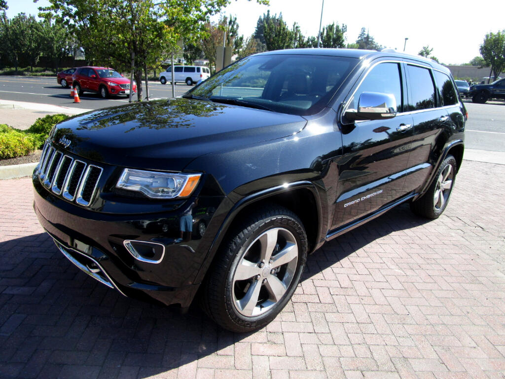 2015 Jeep Grand Cherokee 4WD*OVERLAND PKG*HEAT/AC SEATS*REAR HEAT STS*TOW*