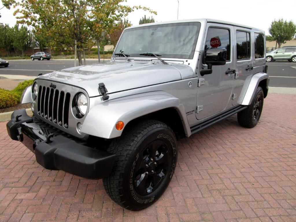 2015 Jeep Wrangler Unlimited ALTITUDE*4WD*NAV*SAT*LTHR HEAT SEATS*W/HARD TOP*