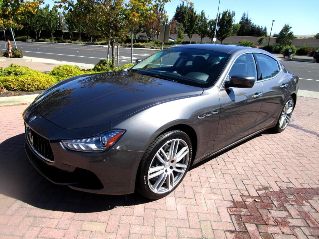 2015 Maserati Ghibli SPORT PKG*RWD*NAV*SAT*SPORT HEAT SEATS*