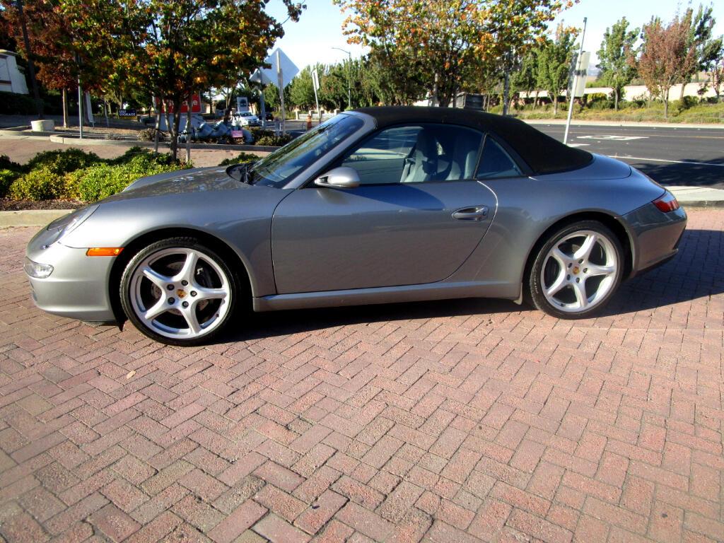 2005 Porsche 911 CABRIOLET*PADDLE SHIFT*FULL LTHR*NAV*HEAT SEATS*