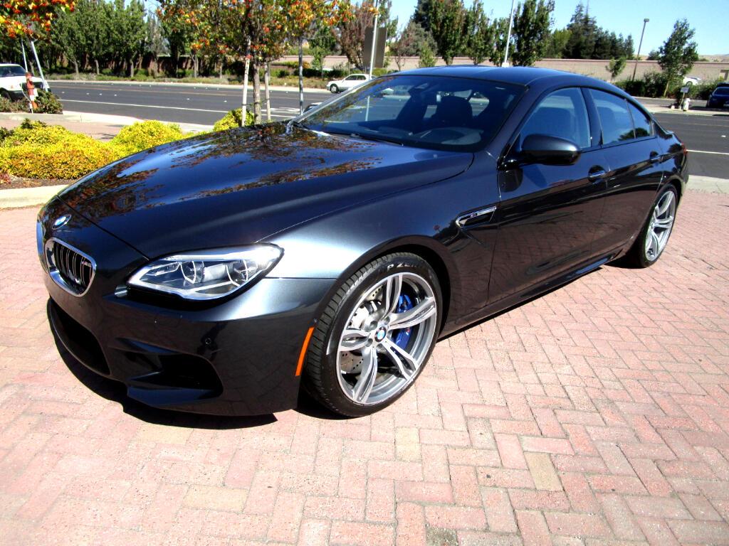 2016 BMW M6 Gran Coupe EXEC PKG*DRIVER ASST PLUS*ACTIVE HEAT/AC SEATS*