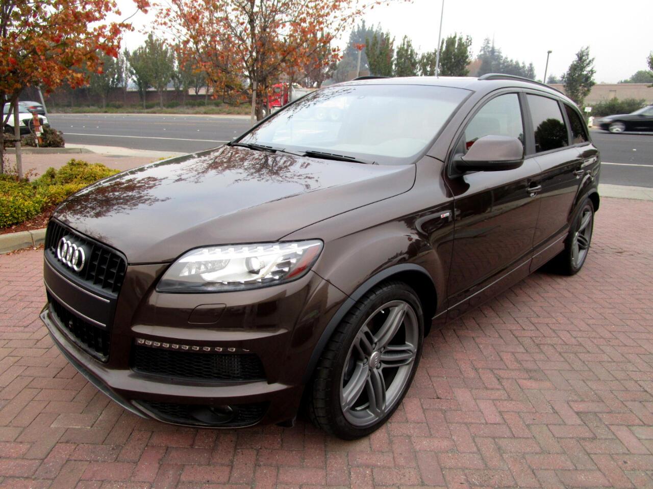 2015 Audi Q7 PRESIGE 3.0 DIESEL*ADPT SUSP*SLINE*LUX SEATS*PANO*