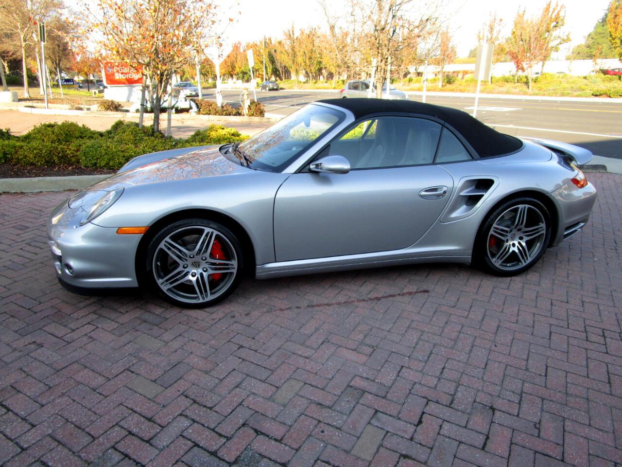 2008 Porsche 911 Turbo ONE OWNER**AUTO*NAV*PWR LTHR SEATS**PWR TOP**